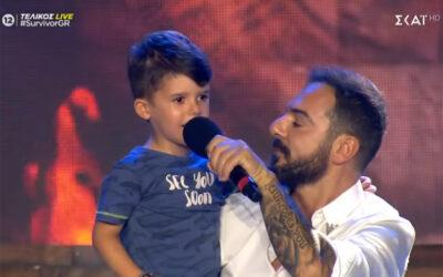 Survivor 2021: Ο Τριαντάφυλλος «έσπασε τα ρολόγια» με τον γιο του και έκλεψε την παράσταση (video)
