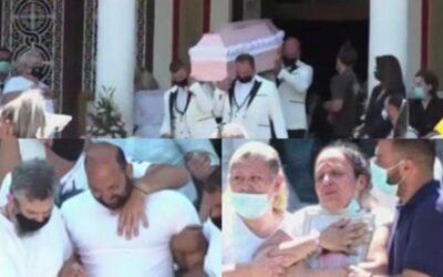 Τροχαίο Νίκαια: Σκηνές αρχαίας τραγωδίας στην Κηδεία της 7χρονης Παναγιώτας (φωτο)