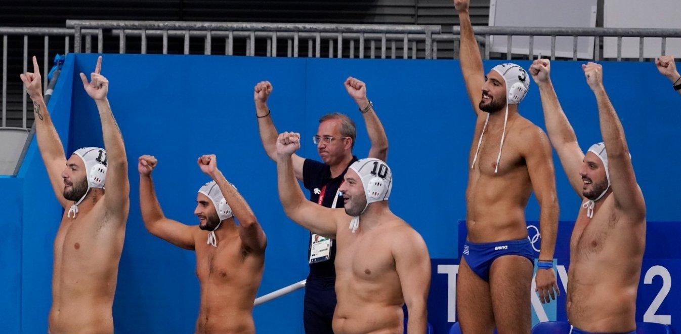 «Ασημένια» στο Τόκιο η Εθνική Πόλο Ανδρών! Ελλάδα - Σερβία 10-13
