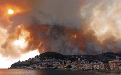 Λίμνη Ευβοίας: Μαρτυρία πυρόπληκτου – «Κάψανε ένα νομό με μηδέν μποφόρ!»