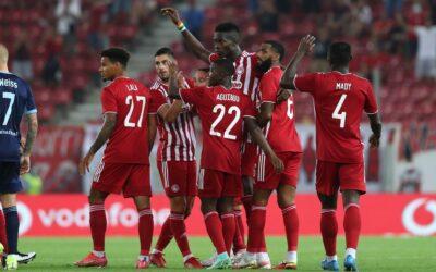 ΤΟΥΣ ΠΑΤΗΣΕ! Ολυμπιακός-Σλόβαν Μπρατισλάβας 3-0 (Highlights)