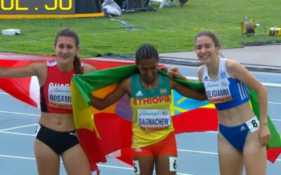 Παγκόσμιο Πρωτάθλημα Κ20: Τρίτη η Δεληγιάννη στα 800 μέτρα