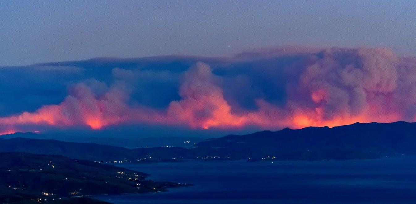 Πυρκαγιά στην Εύβοια: Ο πρόεδρος των δασεργατών καταγγέλλει πως τους εγκατέλειψαν αβοήθητους! (video)