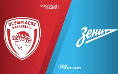 Ολυμπιακός - Ζενίτ live streaming 11/09: Ζωντανή μετάδοση