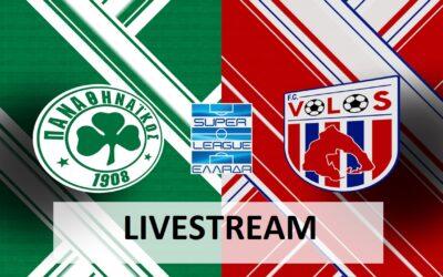 Παναθηναϊκός-Βόλος live streaming 26/09: Ζωντανή μετάδοση