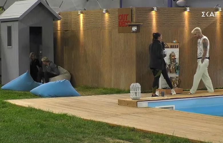 Big Brother: Χοντρά μπινελίκια από την Ανχελίτα στον Νάσο Ντάλλη (video)